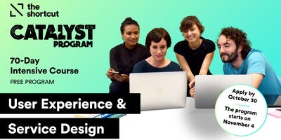 Catalyst Program UX & Service Design Edition - 1st Info Session