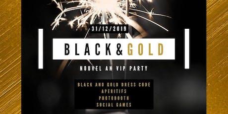 Nouvel An 2020 black&gold billets