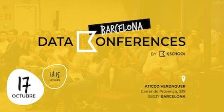 Data Konferences Barcelona entradas