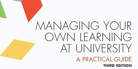 Managing your own learning at University with Aidan Moran  tickets