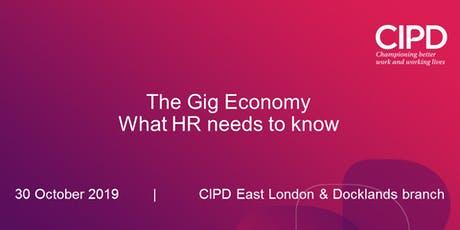 The Gig Economy - What HR needs to know tickets
