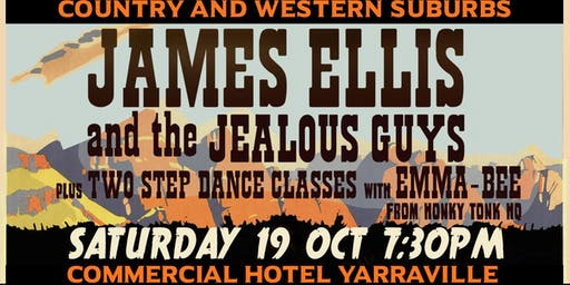 Country and Western Suburbs - A night of live honky tonk and dance classes