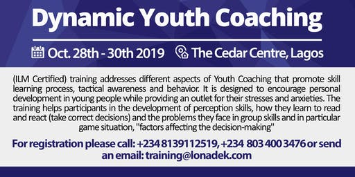 Dynamic Youth Coaching Training