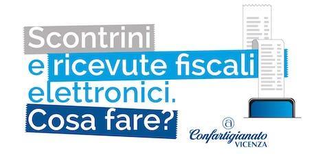 SCONTRINI E RICEVUTE FISCALI ELETTRONICI - COSA FARE? tickets