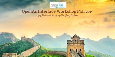 OpenAirInterface Workshop Fall 2019 tickets