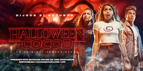 Halloween a COCOA entradas