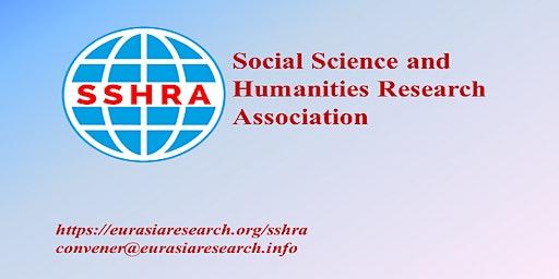 6th Bangkok – International Conference on Social Science & Humanities (ICSSH), 14-15 July 2020