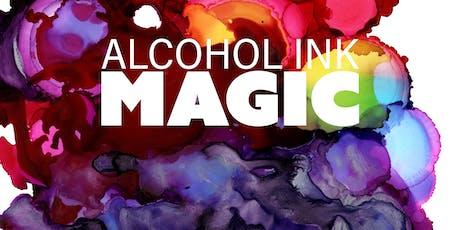 Alcohol Ink Magic Art Workshop tickets