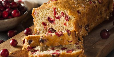 Sourdough Cranberry Bread with Fermented Cranberry Relish
