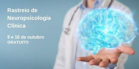 Rastreio de Neuropsicologia Clínica bilhetes
