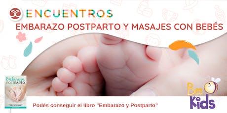 Embarazo, Postparto y Masajes con bebés entradas