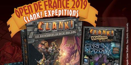Open de Clank! 2019 Expéditions L'Or et la Soie billets
