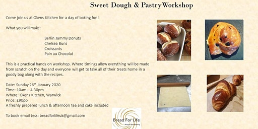 Sweet Dough & Pastry workshop