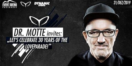 Dr.Motte Celebrate 30 Jahre Loveparade Tickets