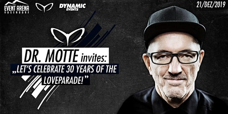 Dr.Motte Celebrate 30 Jahre Loveparade Tickets