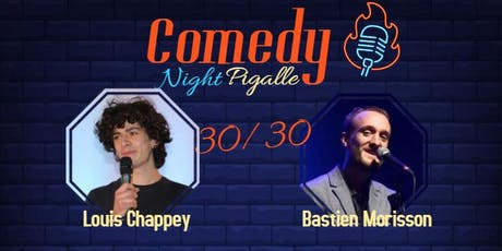 Comedy Night Pigalle #7 billets