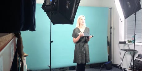 Studio Filming Session - 2 hour talking head shoot tickets