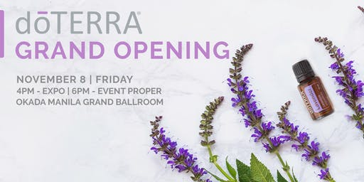doTERRA Philippines Grand Opening
