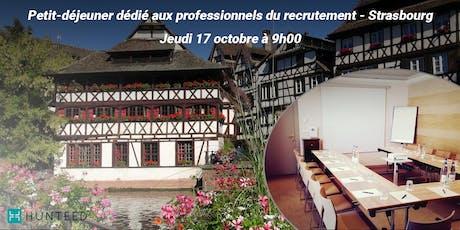 Petit déjeuner entre professionnels du recrutement - Strasbourg billets