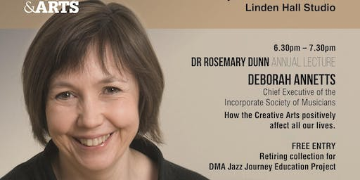 Lecture by Deborah Annetts, ISM