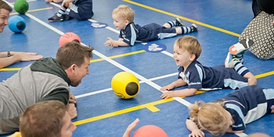 Free Rugbytots taster classes at Woodlands Communi