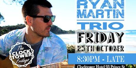 Ryan Martin Trio @ the Clocky tickets