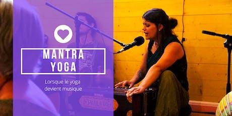 Mantra yoga : Lorsque le yoga devient musique billets