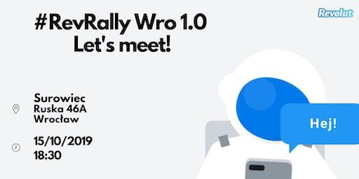 RevRally Wro 1.0: Let's meet!