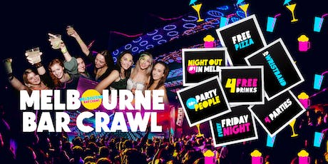 Melbourne Bar Crawl [Friday Night] tickets