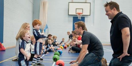 FREE Rugbytots taster session at Brockenhurst College tickets
