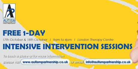Free 1-Day: Intensive Intervention Sessions tickets