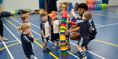 FREE Rugbytots taster session at Brockenhurst Village Hall