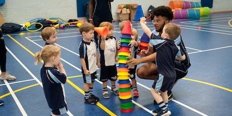 FREE Rugbytots taster session at Brockenhurst Village Hall tickets