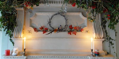 Wreath Making with Florist Emily Watson - PROSECCO & CANAPES @ ISLAND HALL
