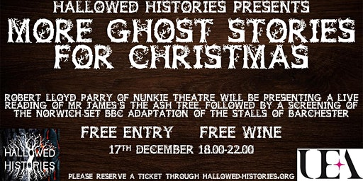 Hallowed Histories Present - More Ghost Stories for Christmas