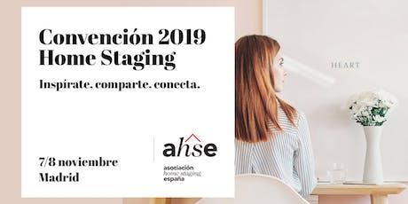 Convención Home Staging 2019 entradas
