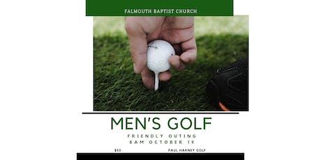 Falmouth Baptist Men's Golf Sat Oct. 19, 2019  tickets