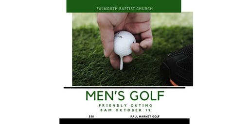 Falmouth Baptist Men's Golf Sat Oct. 19, 2019