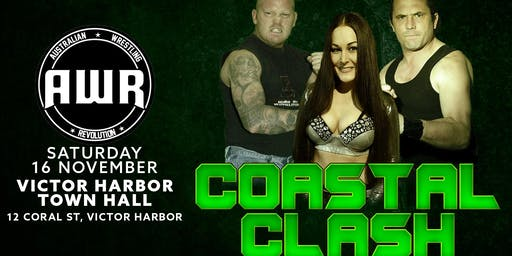 Australian Wrestling Revolution Presents 'Coastal Clash' Live at Victor Har