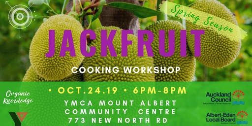 Jackfruit Workshop at YMCA Mt. Albert