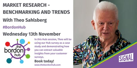 Market research - Benchmarking and Trends with Theo Sahlsberg tickets