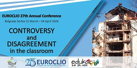 27th EUROCLIO Annual Conference:Controversy & Disagreement in the Classroom tickets