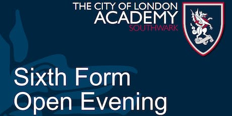 Sixth Form Open Evening 2019 (2) tickets