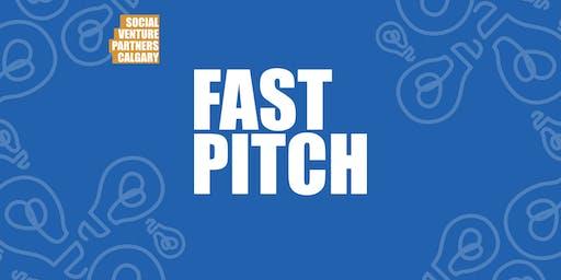 2019 Social Venture Partners (SVP) Calgary Fast Pitch Finals