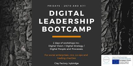 Digital Leadership Bootcamp - Clay Factory, Nr Ivybridge, Devon tickets