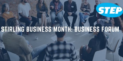 Stirling Business Month: Business Forum