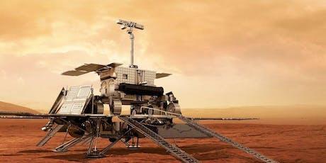 La Recherche spatiale sur Mars en Belgique billets