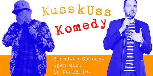 Stand-up Comedy: KussKuss Komedy am 16. Oktober