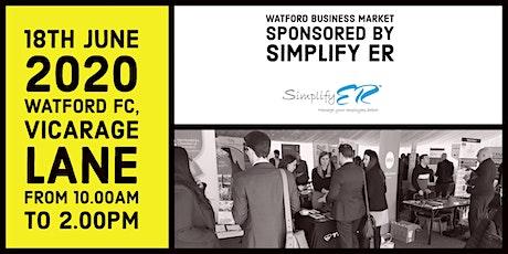 Watford Business Market sponsored by Simplify ER tickets