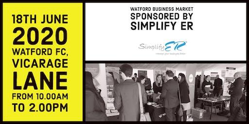 Watford Business Market sponsored by Simplify ER